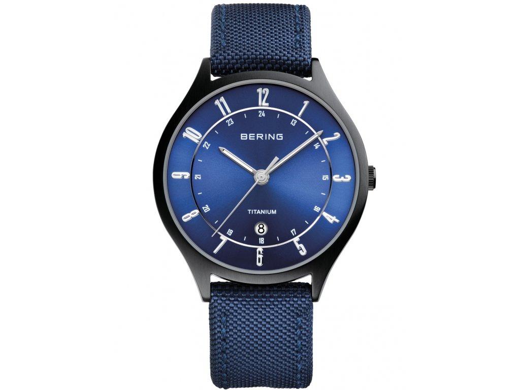 Pánské hodinky Bering 11739-827 Titanium