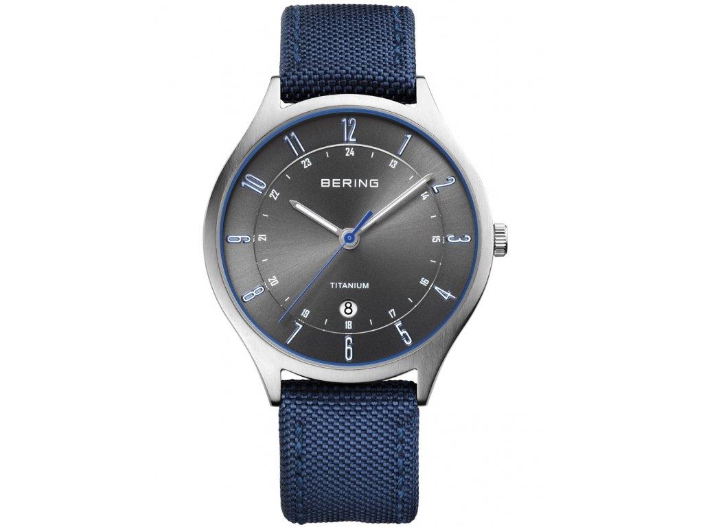 Pánské hodinky Bering 11739-873 Titanium