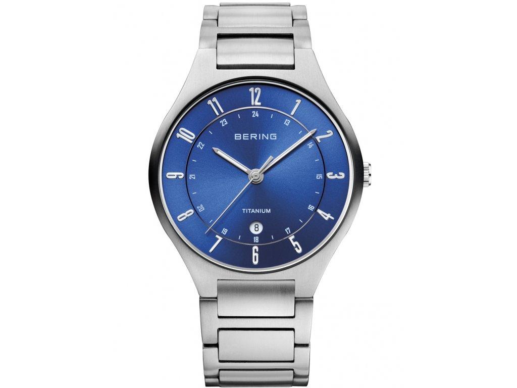 Pánské hodinky Bering 11739-707 Titanium
