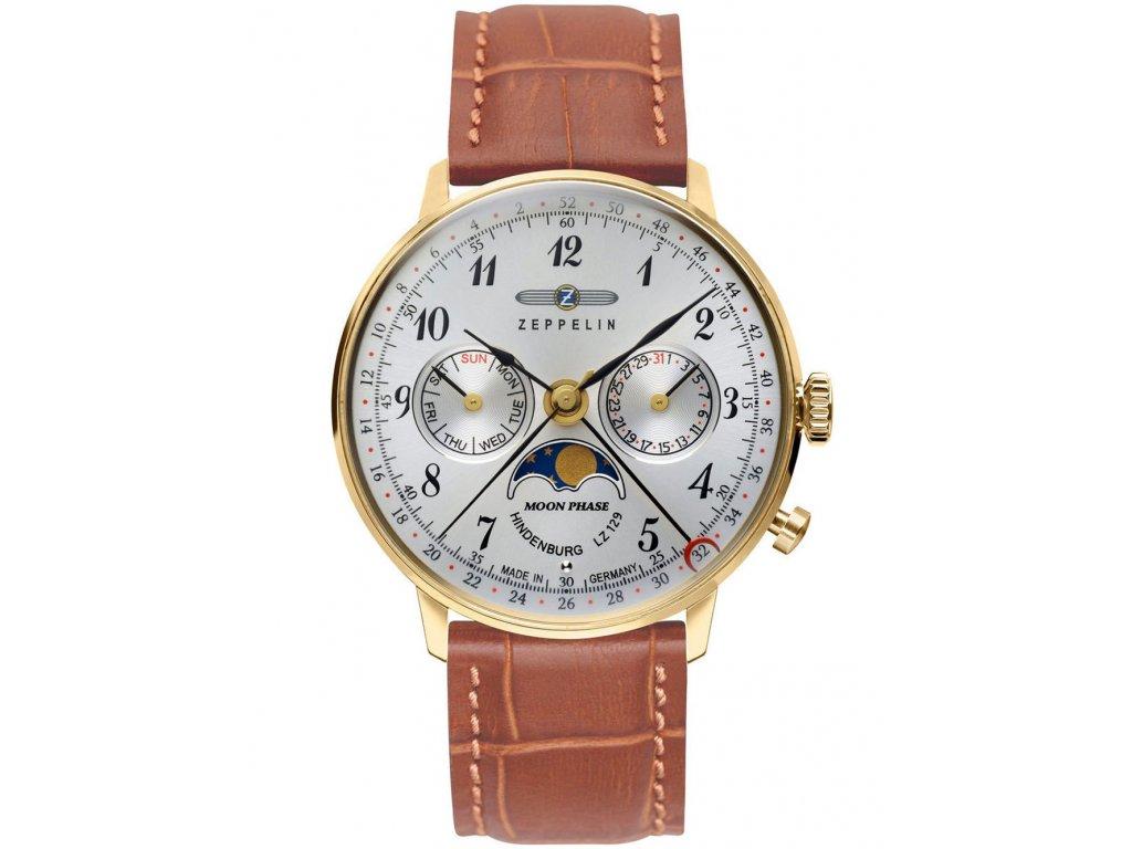 Pánské hodinky Zeppelin 7039-1 Hindenburg Mondphase