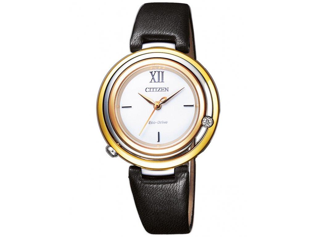 Dámské hodinky Citizen EM0656-15A Elegance