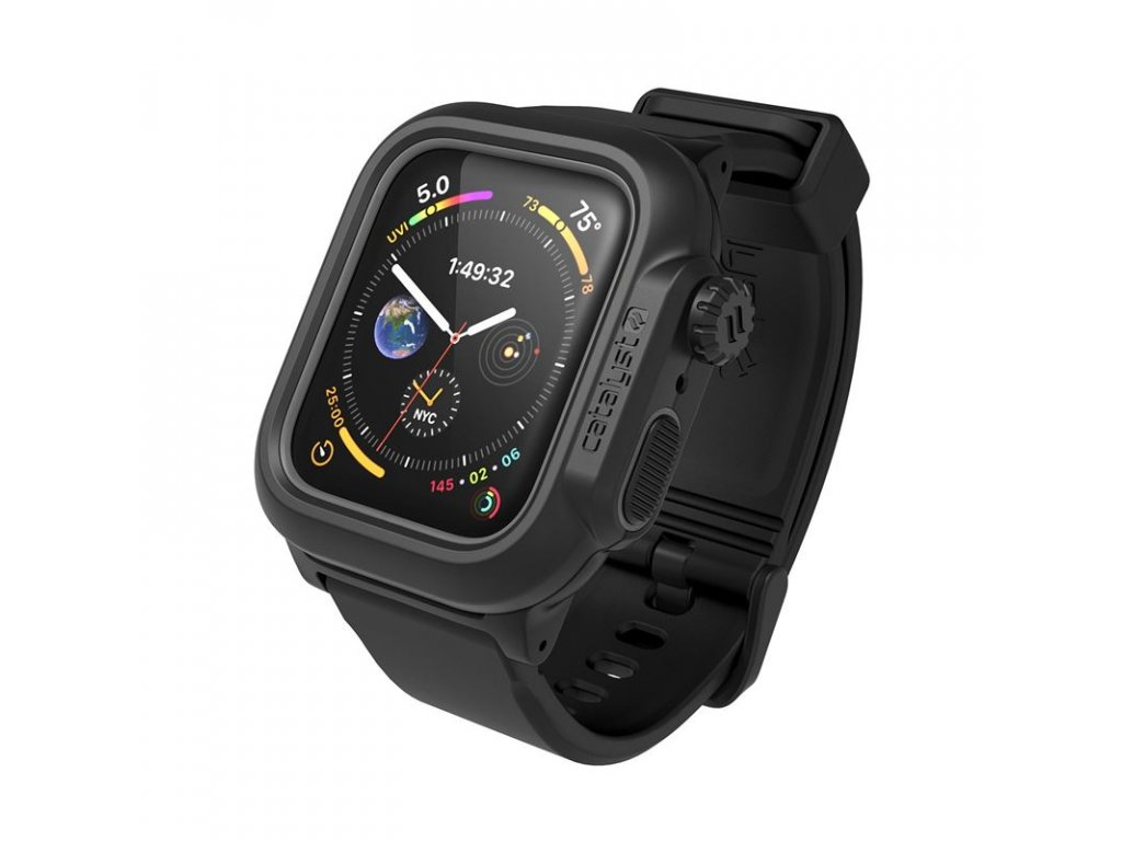 Catalyst Waterproof case, black - AW 6/SE/5/4 44mm
