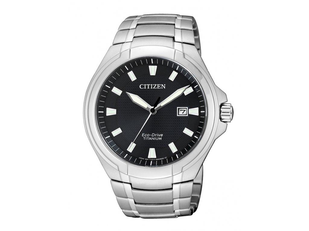 Pánské hodinky Citizen BM7430-89E Eco-Drive Super-Titanium