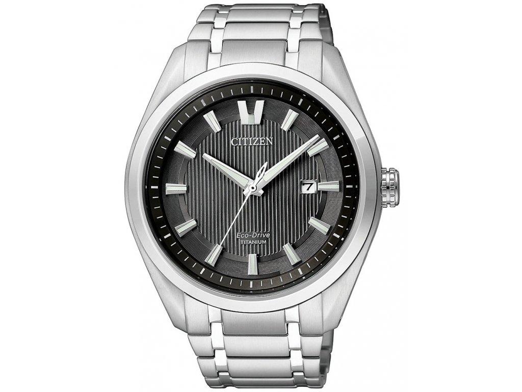 Pánské hodinky Citizen AW1240-57E Eco-Drive Super-Titanium
