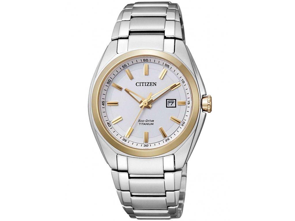 Dámské hodinky Citizen EW2214-52A Eco-Drive Super-Titanium