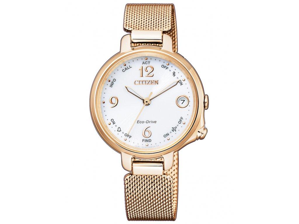 Dámské hodinky Citizen EE4033-87A Bluetooth Smartwatch