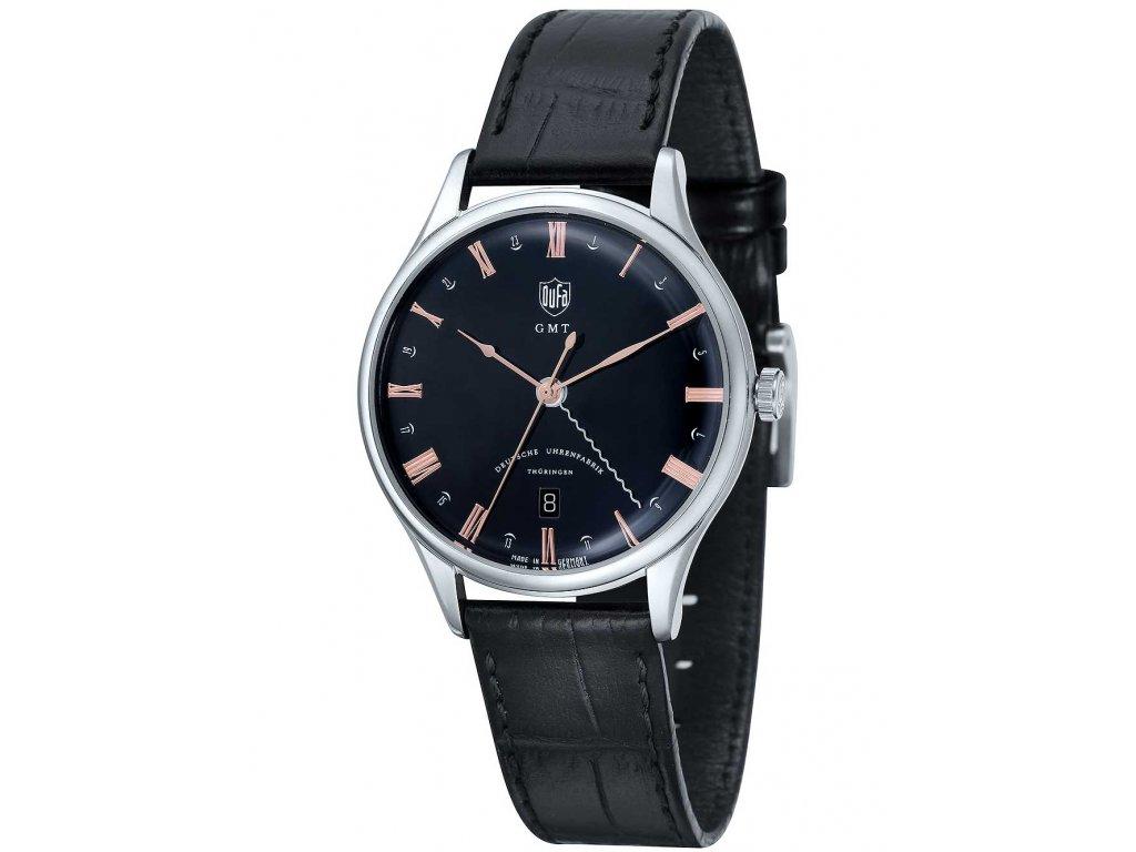 Pánské hodinky DuFa DF-9006-01 Weimar GMT