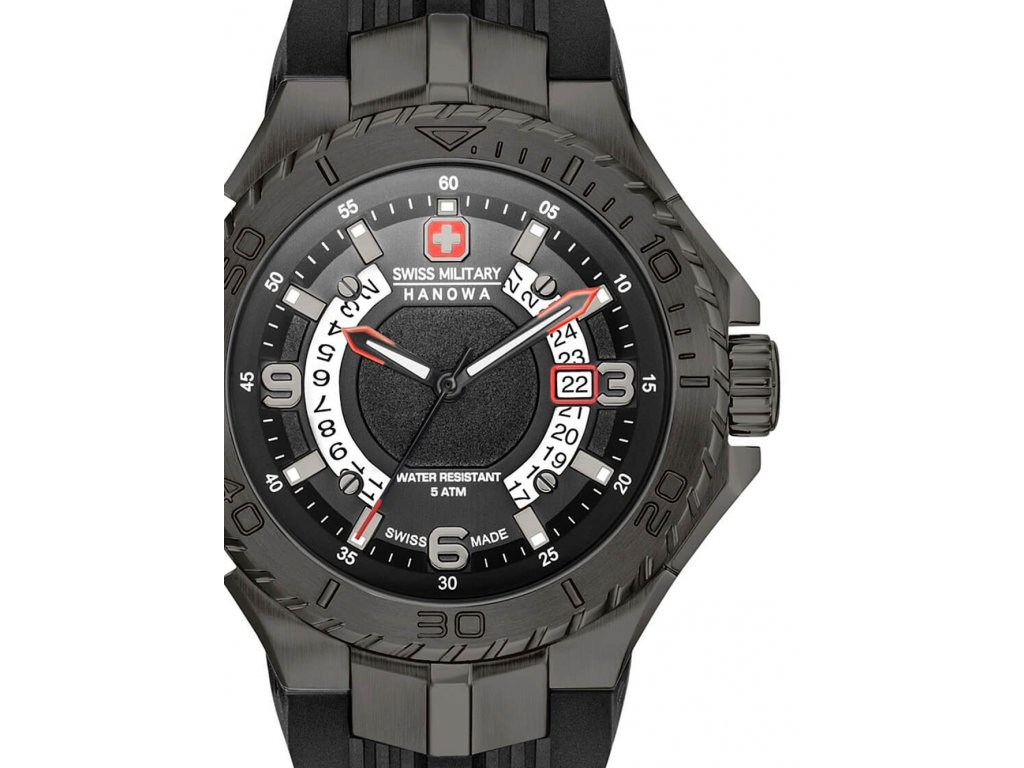 Pánské hodinky Swiss Military Hanowa 06-4327.13.007.07 Seaman