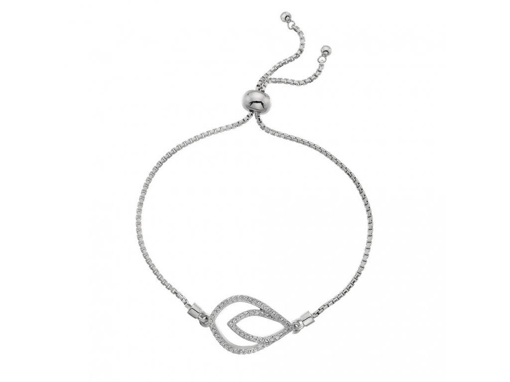 Stříbrný náramek Hot Diamonds Lily DL592