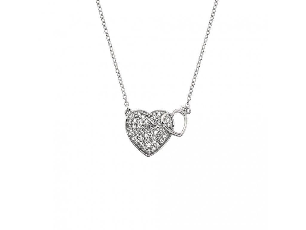 Stříbrný přívěsek Hot Diamonds Flora DP730