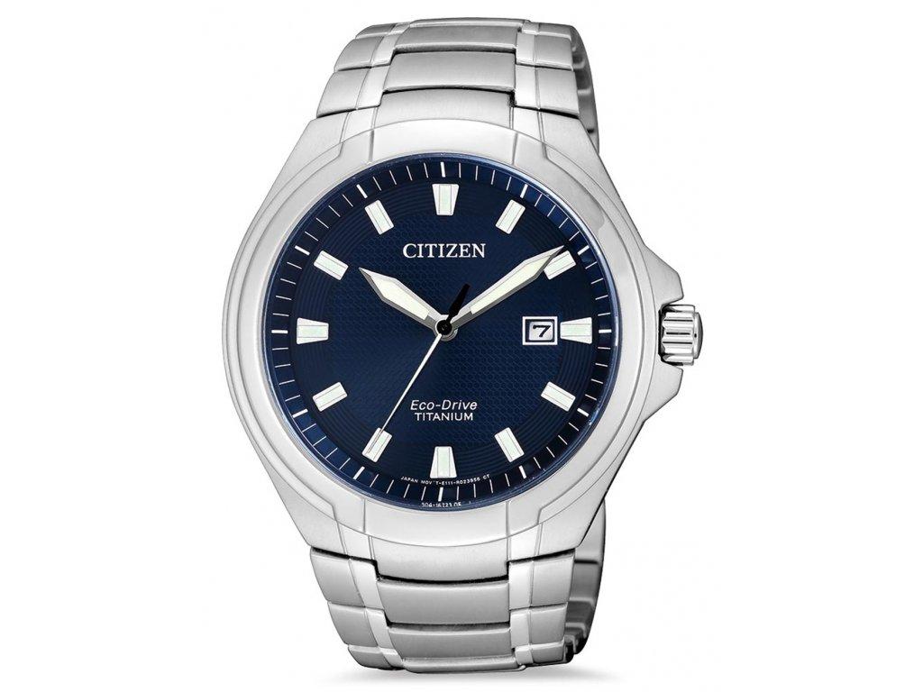Pánské hodinky Citizen BM7430-89L Eco-Drive Super-Titanium