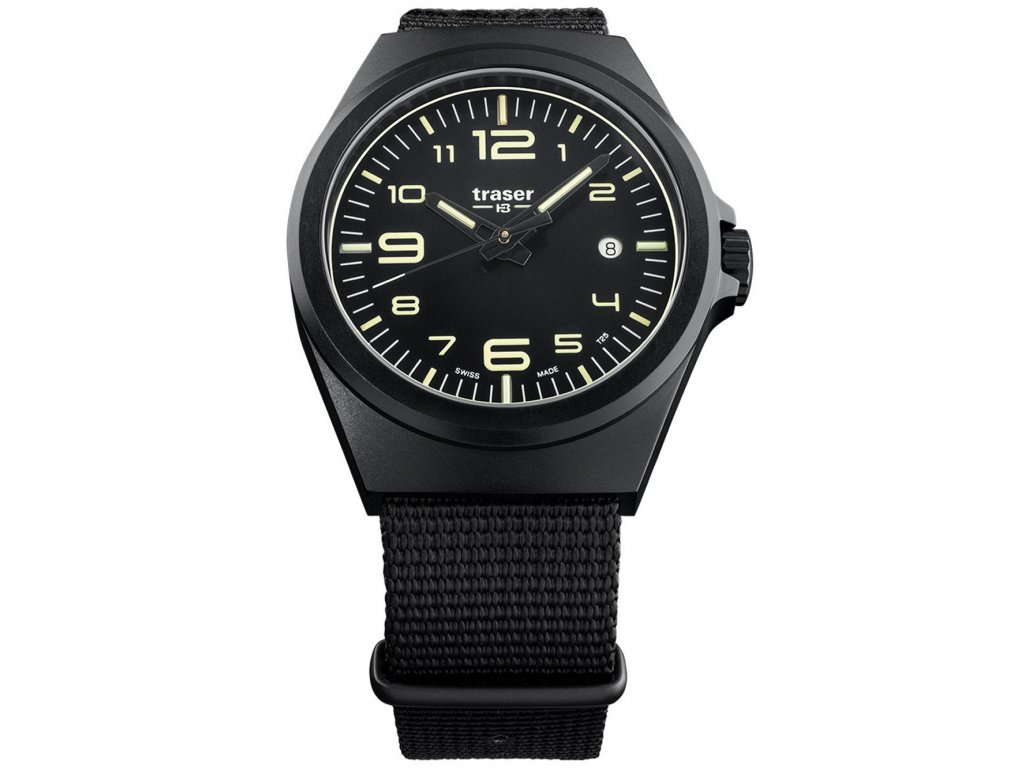 Pánské hodinky Traser H3 108218 P59 Esssential M Black