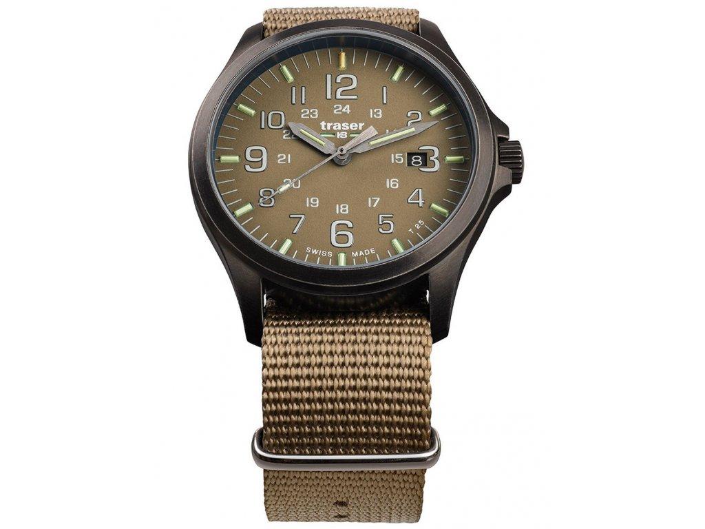 Pánské hodinky Traser H3 108631 P67 Officer GunMetal Khaki