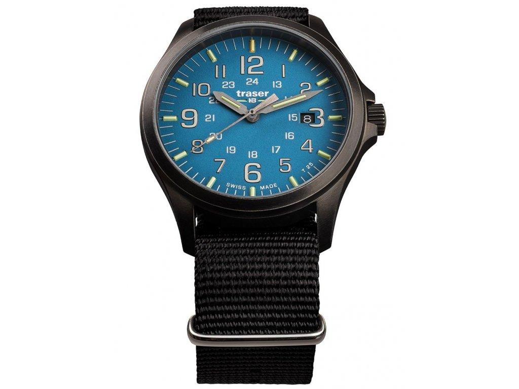 Pánské hodinky Traser H3 108647 P67 Officer GunMetal Skyblue
