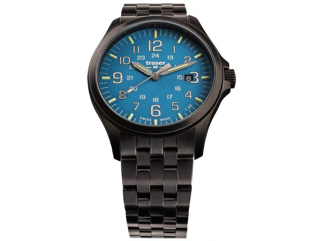 Pánské hodinky Traser H3 108740 P67 Officer GunMetal Skyblue