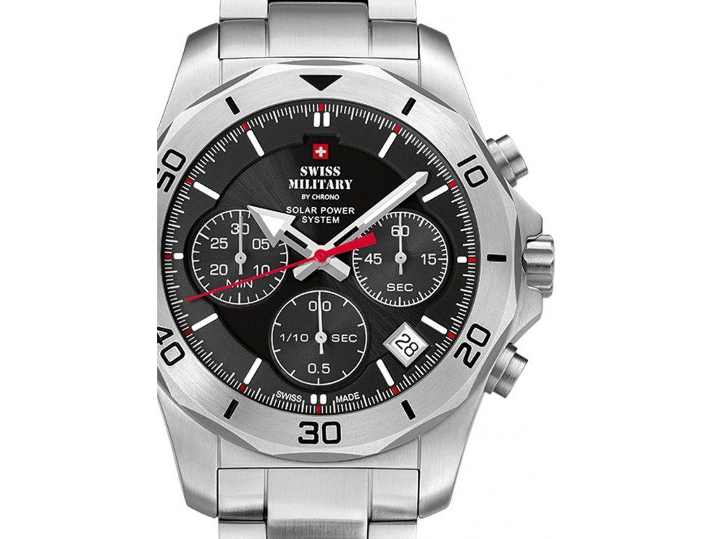 Pánské hodinky Swiss Military SMS34072.01 Solar