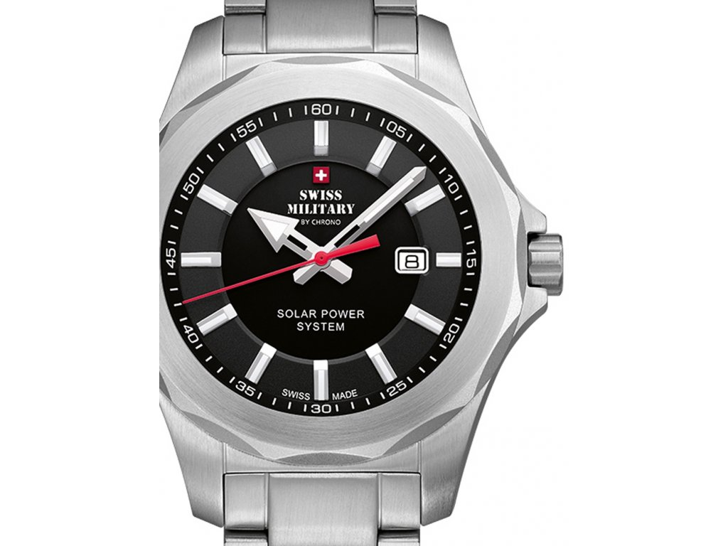 Pánské hodinky Swiss Military SMS34073.01 Solar