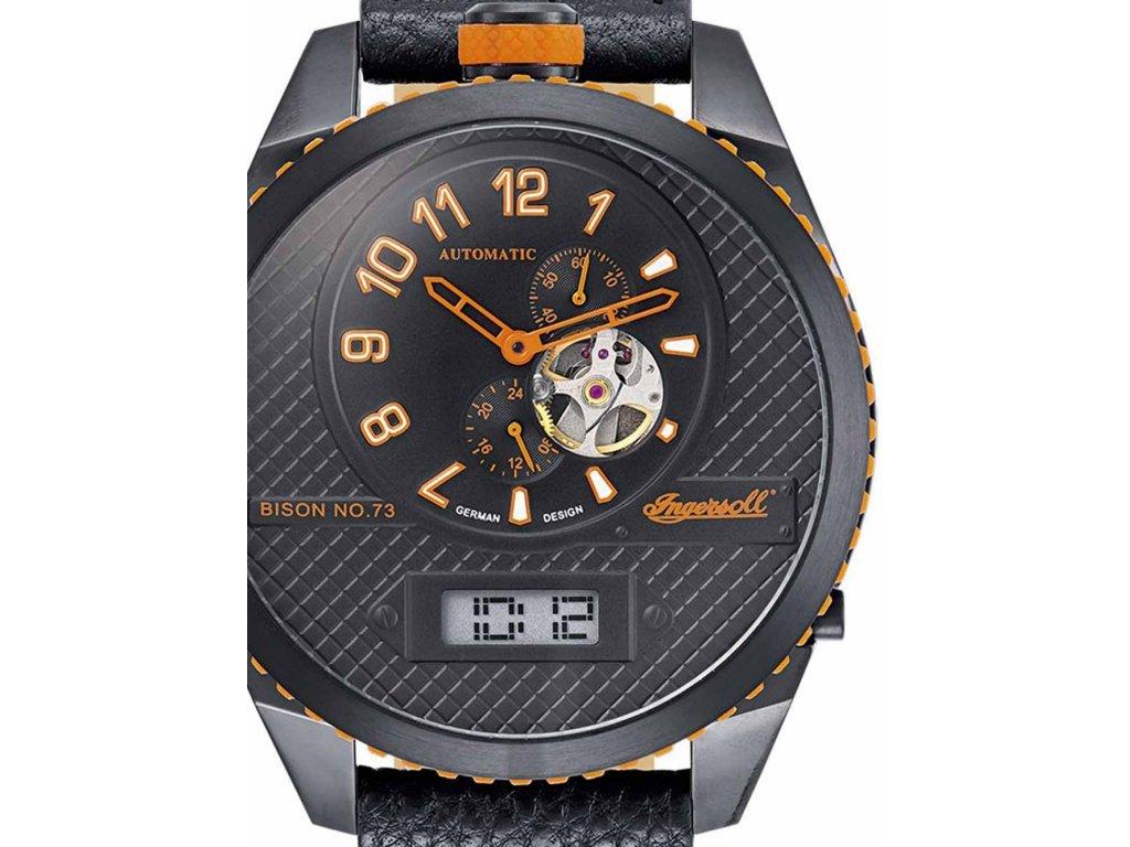 Pánské hodinky Ingersoll IN1716BBKO Automatik