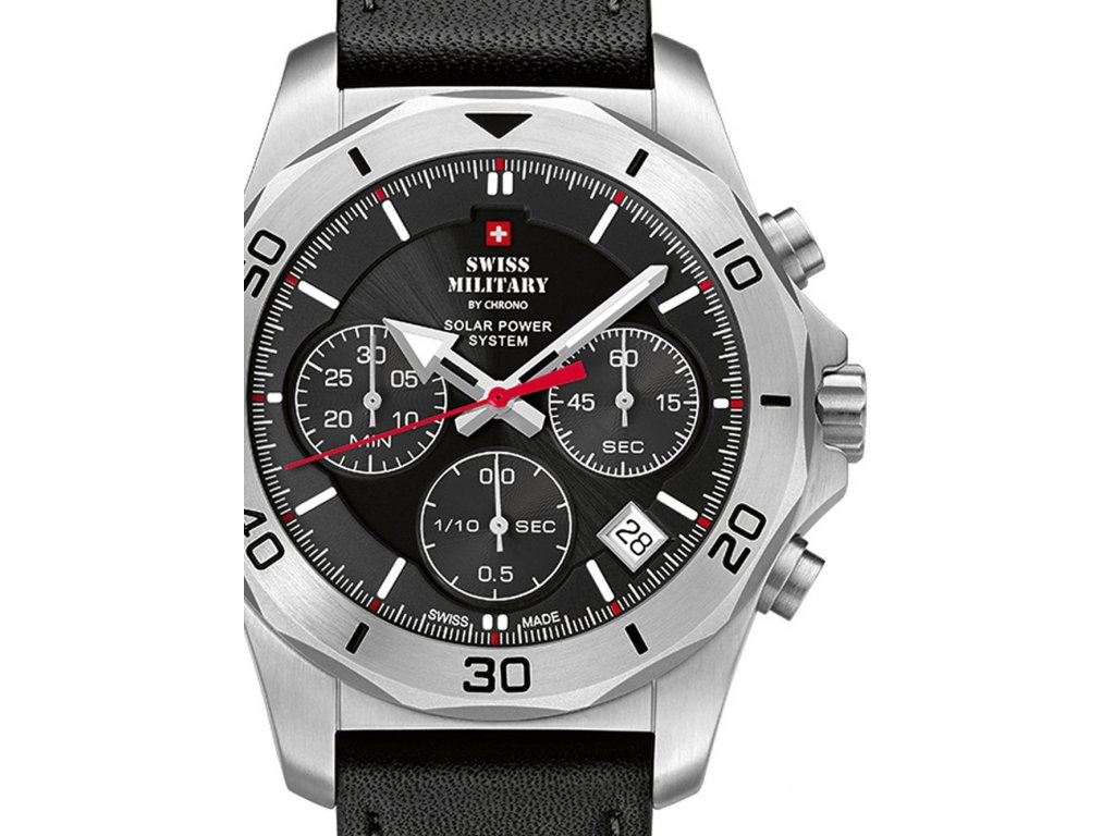 Pánské hodinky Swiss Military SMS34072.04 Solar