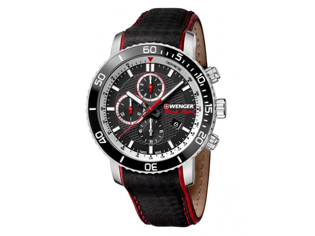 Pánské hodinky Wenger 01.1843.105 Roadster Black Night