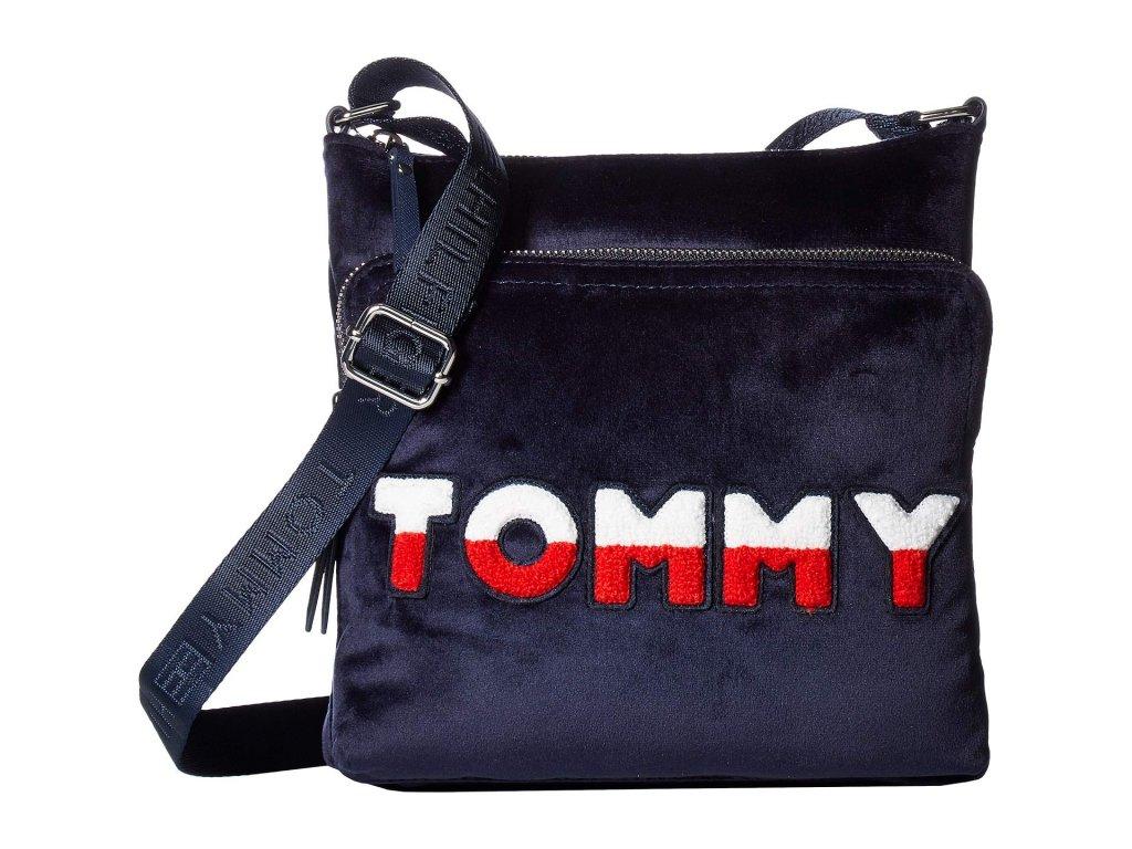 Tommy Hilfiger Nylon North South Crossbody modrá