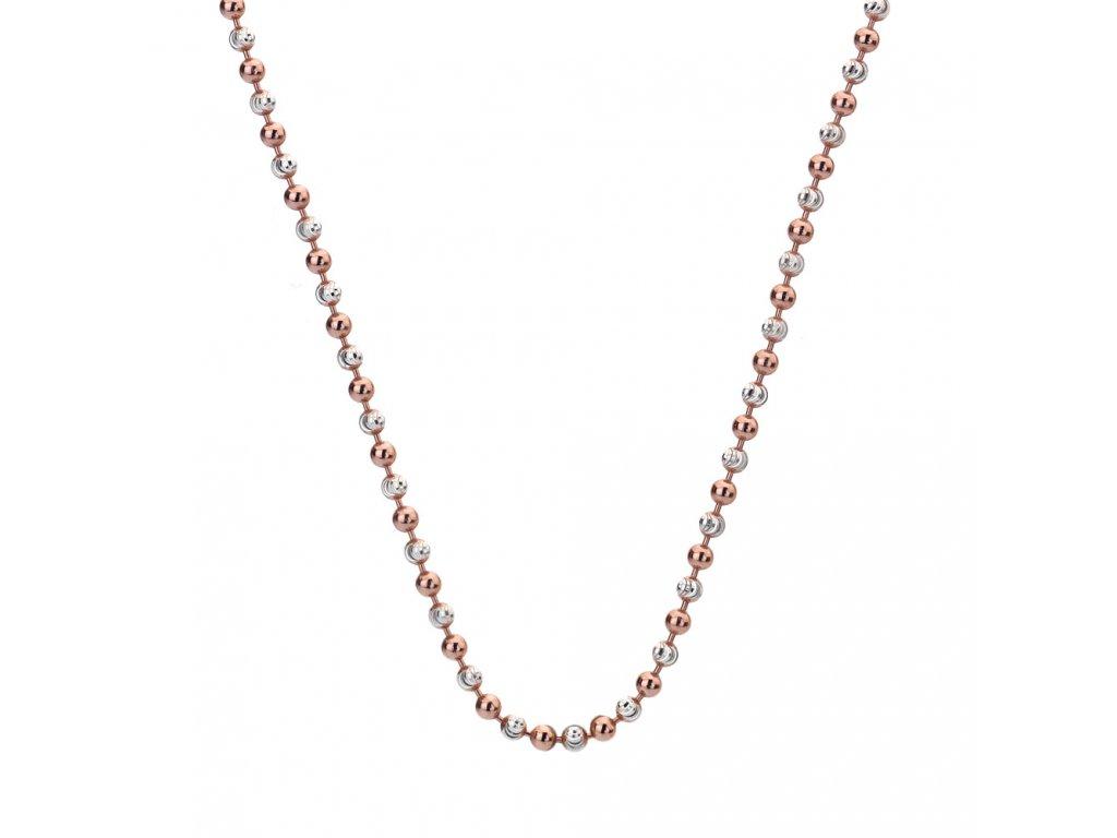 Stříbrný řetízek Hot Diamonds Emozioni Bead Silver Rose 61
