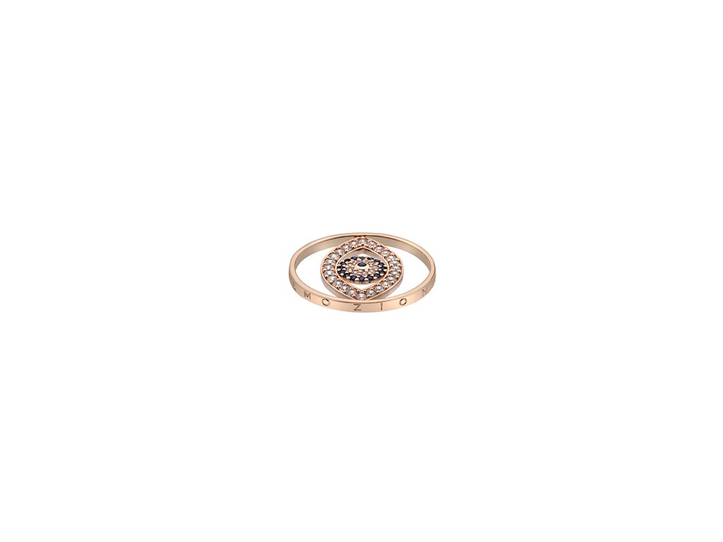 Přívěsek Hot Diamonds Emozioni Eye Sparkle Rose Gold Coin