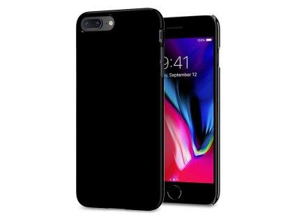 Spigen Thin Fit, jet black - iPhone 7+/8+