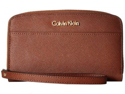 Calvin Klein Saffiano Wallet Strap