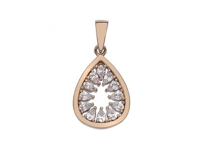 Přívěsek Hot Diamonds Emozioni Eleganza RG EP020