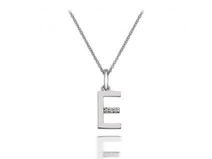 Přívěsek Hot Diamonds Micro E Clasic DP405