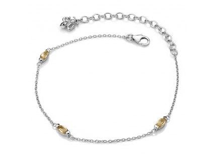 Náramek Hot Diamonds Anais Citrin AB011