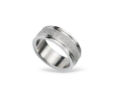 Prsten z chirurgické oceli RSS424