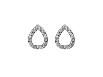 Stříbrné náušnice Hot Diamonds Teardrop Micro Bliss DE555