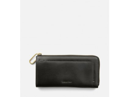 Large Leather Zip Around Wallet