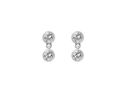 Stříbrné náušnice Hot Diamonds Willow DE586