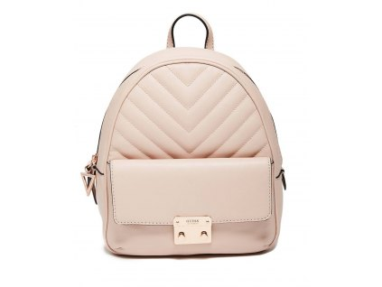 GUESS BATOH FELTON MINI CONVERTIBLE BACKPACK růžový