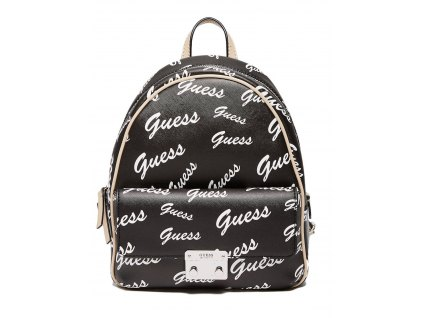 GUESS BATOH FELTON MINI CONVERTIBLE BACKPACK LOGO BLACK
