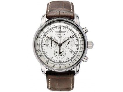 Pánské hodinky Zeppelin 7680-1 100 Jahre Zeppelin Alarm