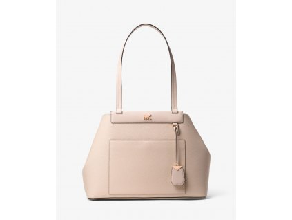 Meredith Medium Pebbled Leather Tote