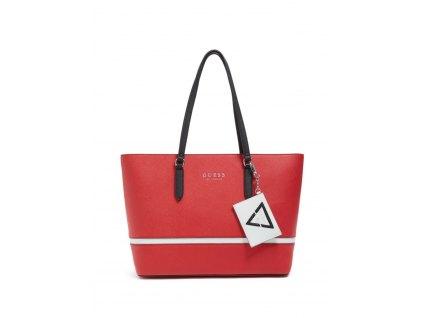 GUESS Factory Women's Layne Logo Tote červená0