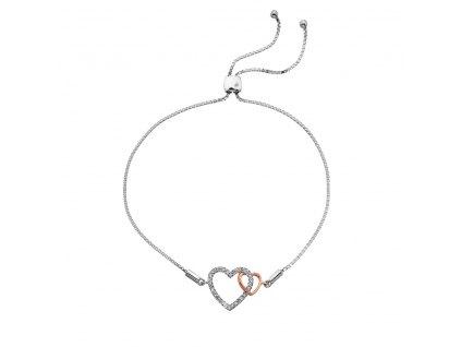 Stříbrný náramek Hot Diamonds Flora RG DL590