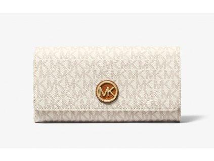 Peněženka Michael Kors Logo Wallet bílá