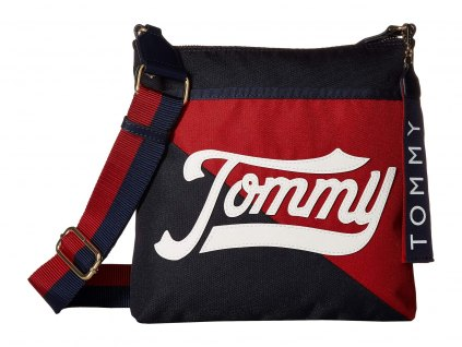 Tommy HilfigerDaly Large North South Crossbody modrá