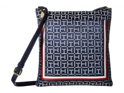 Tommy Hilfiger Carmen North South Crossbody modrá