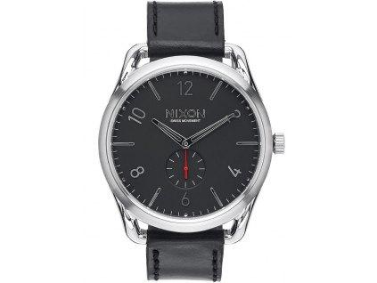 Pánské hodinky NIXON A465-008 C45 Leather Black Red