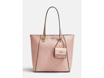 RAYNA SHOPPER WITH EMBOSSED LOGO