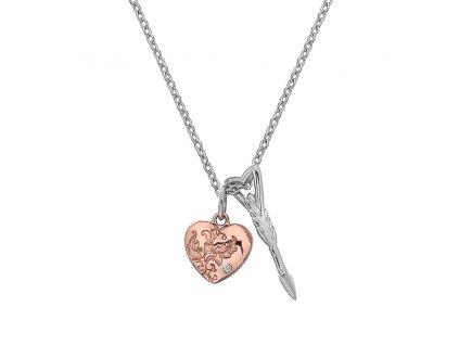 Přívěsek Hot Diamonds Cupid RG DP750