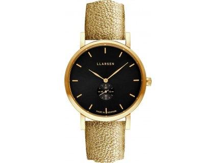 Dámské hodinky LARS LARSEN 144GBG3-GGOLD18
