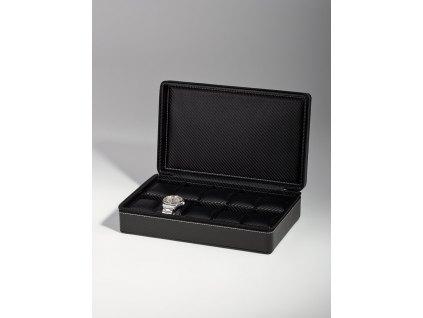 Kufřík na hodinky Rothenschild RS-3250-10BL carbon